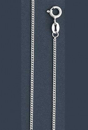 "Curb Chain Necklace- 1.5 mm in Wide- 16"" or 18""/20""/24"" in Length"